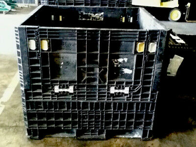 Pallet Box Storage Container Automotive Bin Collapsible Buckhorn Trade Show Arca