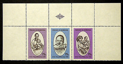 Province of Bumbunga - South Australia - Cinderella Stamps - 1983 - Block of 3