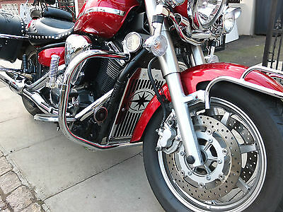 Yamaha Midnight Star XVS 1300 Crash Bar Highway Engine Guard, Protector