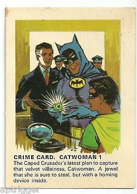 "1966 Batman Weeties & Rice Krinkles "" Catwoman 1 """