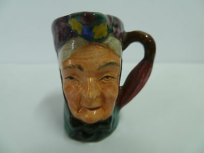 Old Character Lady Tiny Toby Jug ... Made In England