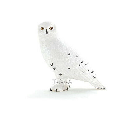 FREE SHIPPING | Mojo Fun 387201 Snowy Owl Realistic Model - New in Package