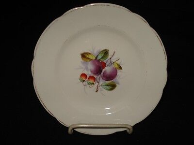 "7 1/4"" kpm plate w/fruit"