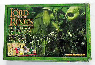 Lotr The Fellowship Of The Ring Miniatures Paint Set Box Games Workshop