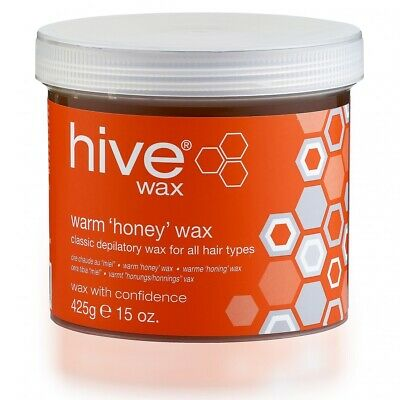 Hive Options Warm Honey Wax All-Purpose Original Formulation Wax 425g