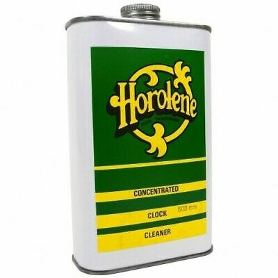 Horolene Ammoniated Clock Cleaner Solution 500ml can