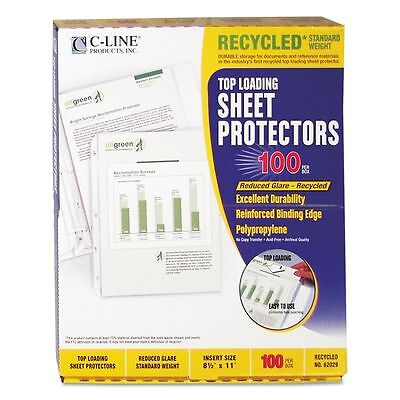 C-Line Recycled Top Loading Sheet Protectors - CLI62029