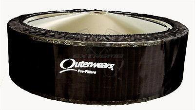 "Outerwears 14""x4"" Black Air Cleaner Pre Filter No Top"