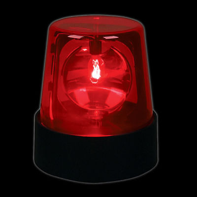 5 Police Light Beacon Red Flashing Club Decoration