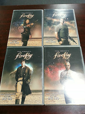 Firefly - The Complete Series (DVD, 2004, 4-Disc Set, French Version) #25763-8