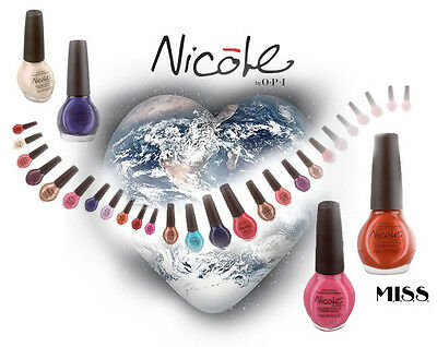 Nicole by OPI Nail Lacquer Huge Color Assortment Full Size - 60 Different Colors