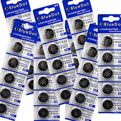 US SELLER 40 pcs DL2032 CR2032 2032 Quality Lithium Battery 3V ~ FREE SHIPPING