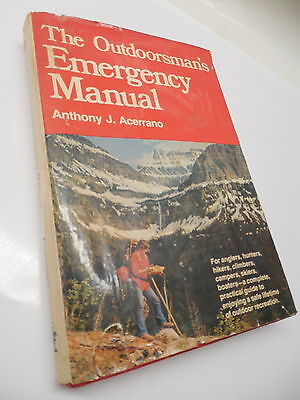Outdoorsman's Emergency Manual Survival Guide Book Mountain Terrain Boating