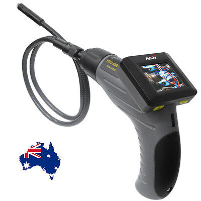 """2.4"""" LCD 1M Cable Inspection Tube Camera Borescope Endoscope Scope Rotate 360A-2"""