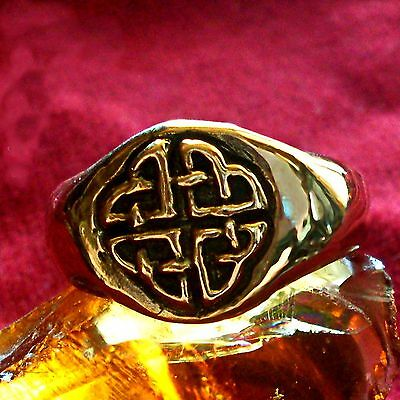 Kelten Ring Bronze Wikinger Viking Celtic LARP