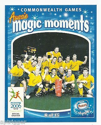 Heather TURLAND 2006 Commonwealth Games Nestle Peters Magic Moments 12