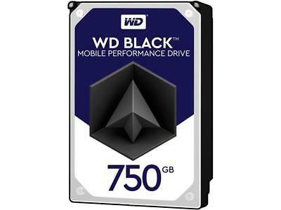 WD Black 750GB Performance Mobile Hard Disk Drive - 7200 RPM SATA 6Gb/s 16MB Cac