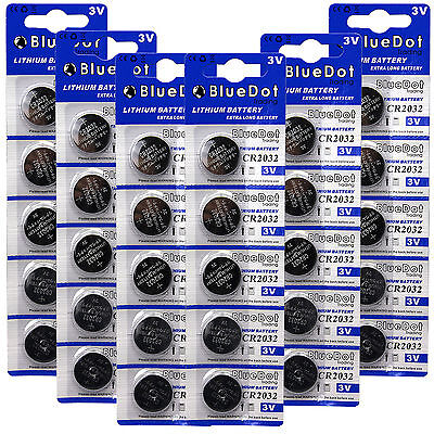 30 quality batteries ~ CR2032 DL2032 3v Lithium battery NEW KCR2032 L14 5004LC