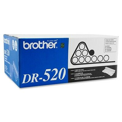 Brother DR520 Imaging Drum Unit, 25000 Page Yield, Black