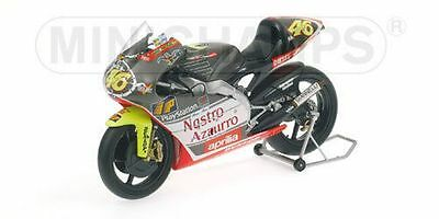 MINICHAMPS 122 990086 bx Aprilia 250cc race bike ROSSI 1999 World Champion 1:12