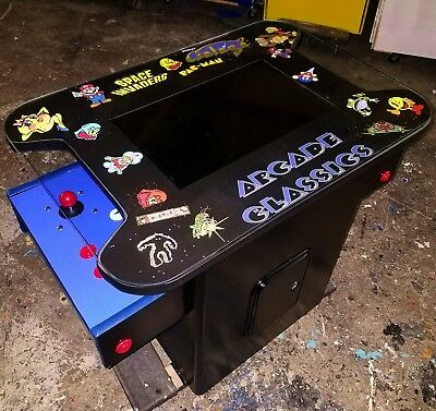 Cocktail Table Arcade Video Game Machine