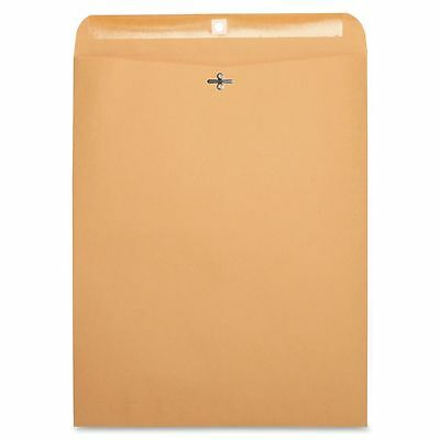 "Business Source Gummed 12"" x 15 1/2"" Clasp Envelopes - BSN36667"