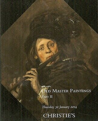 Christie's Old Master Paintings Part II Auction Catalog 2014