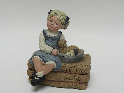 Rare Hand Signed By Artist Martha Holcombe All God's Children Ginnie Figurine