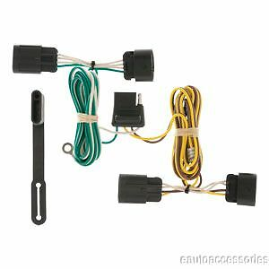 curt class 3 trailer hitch wiring for chevrolet equinox gmc trailer hitch t connector wiring fits chevrolet equinox gmc terrain curt 56094