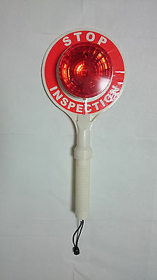 Roadway Displays Construction  Traffic Control Flashing LED Hand Held Stop Sign