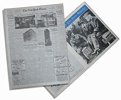 4/1/45 NY Times Allies Sweep On Reich as Rout Grows