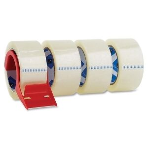 "Sparco Heavy Duty 2"" Packing Tape with Dispenser - SPR64011"