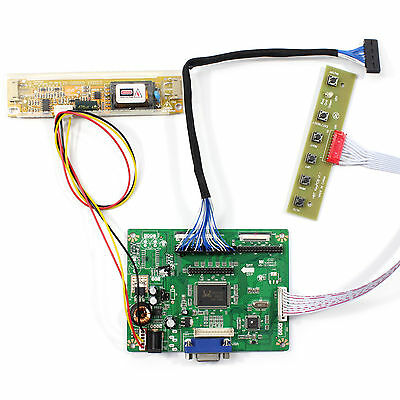 "VGA LCD Controller Board Work For 12.1"" LB121S02 A2 800x600 LCD Screen"