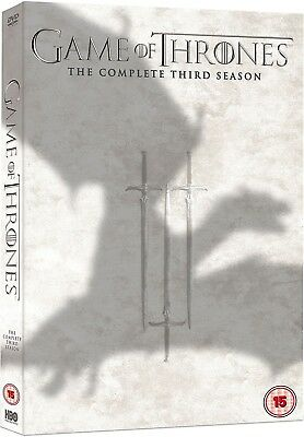GAME OF THRONES 3 (2013) - A STORM of SWORDS - TV Season Series -  R2 DVD not US