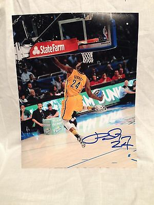 5f1dc98e4c5c Paul George Signed Autographed Basketball 11X14 Photo Indiana Pacers Coa  Wow C