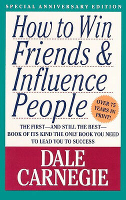 How to Win Friends and Influence People -  GREAT book :)  - I ship worldwide