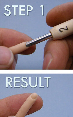 M00563 MOREZMORE Fingernail Sculpting Tool 1 mm Miniature Polymer Clay Doll Baby