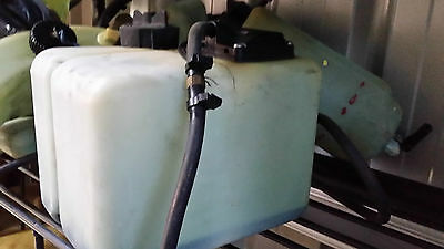 2 Stroke oil bottles all brands on motor and remote feed