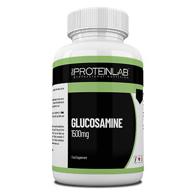 Glucosamine Sulphate 1500mg 2KCL Joint Care and Pain Tablets Pills Free UK P & P