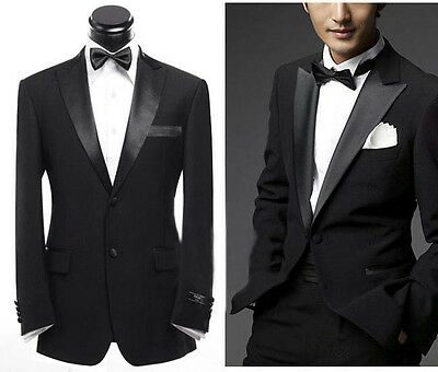 2016 Mens Wedding Suit Bridal Groom Tuxedos Formal Occasion Suit Custom Made