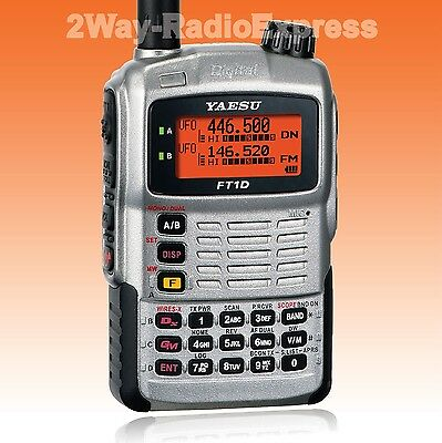 YAESU FT-1DE  VHF-UHF DIGITAL Tranceiver with GPS, Extended TX-RX Range! FT-1DR