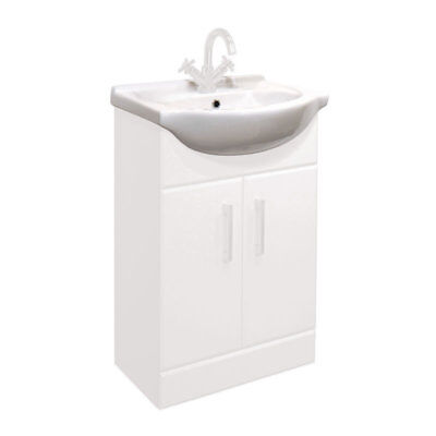 550mm Standard Replacement Basin Sink for Classic Bathroom Vanity Unit