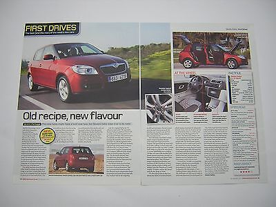 Skoda Fabia 1.2 12-Valve - First Drive Road Test from 2007 - Original