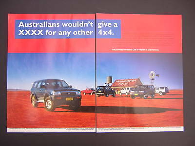 Toyota 4Runner and Land Cruiser Advert from 1995