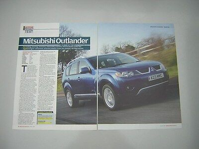 Mitsubishi Outlander 2.0 DI-D Elegance Road Test from 2007 - Original