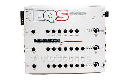 Audiocontrol EQS (white) 6 Channel 13 Band Graphic Equalizer EQ New