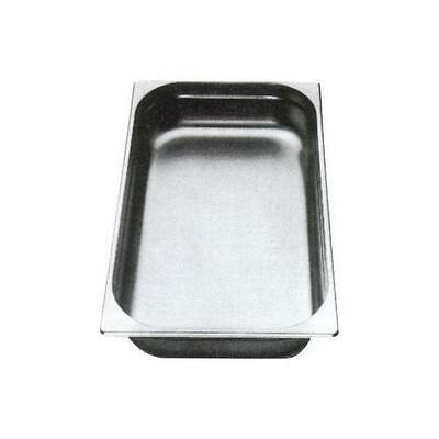 2PCS S/STEEL CONTAINER GN 1/1 GASTRONORM TRAY FOODGRADE 150mm DEEP WITH LIDS