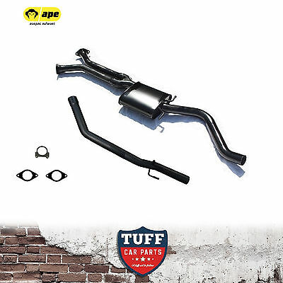 """VZ V6 Holden Commodore Ute Twin to Single 2.5"""" Cat Back Sports Exhaust Catback"""