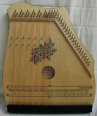 AKKORDZITHER GITARR - MANDOLIN - ZITHER 100/6 natur