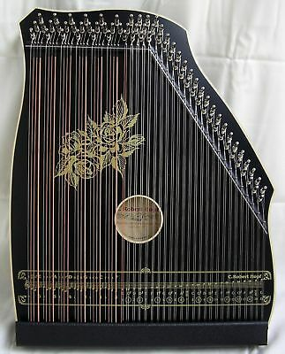 AKKORDZITHER GITARR - MANDOLIN - ZITHER 100/4  schwarz